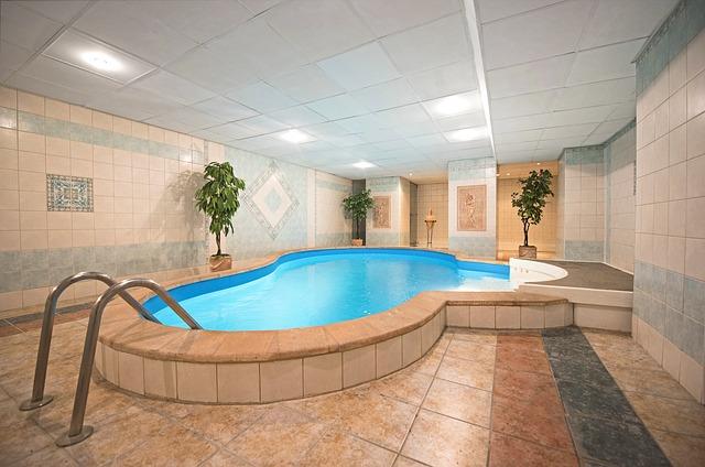 bazén v penzionu