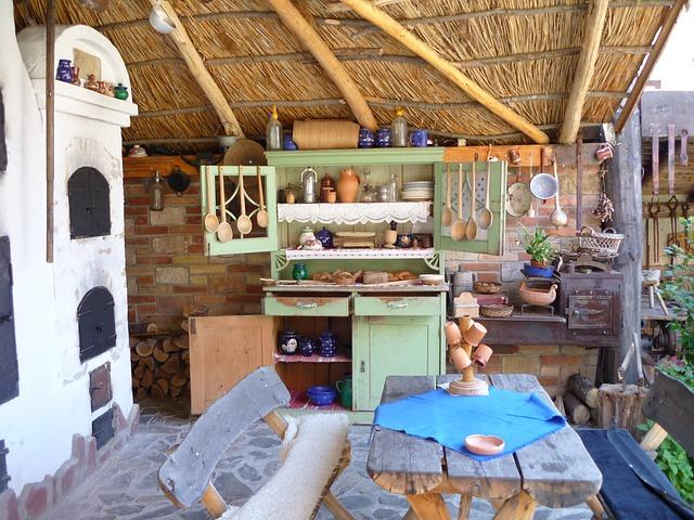 kuchyňka na terase