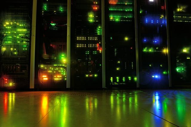 LED diody na servru