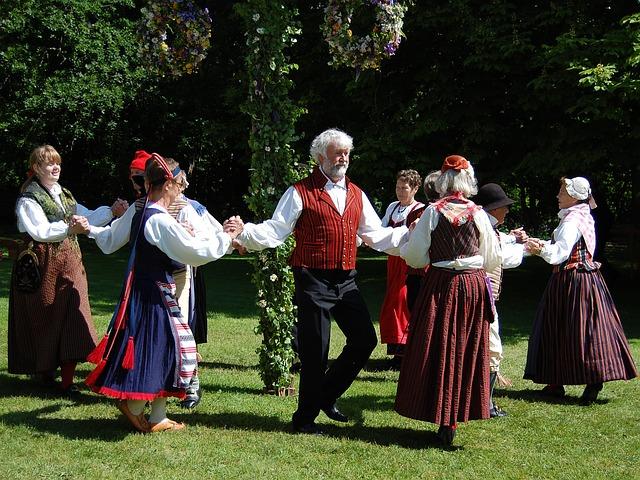Některé akce vyžadují tradiční oděv.